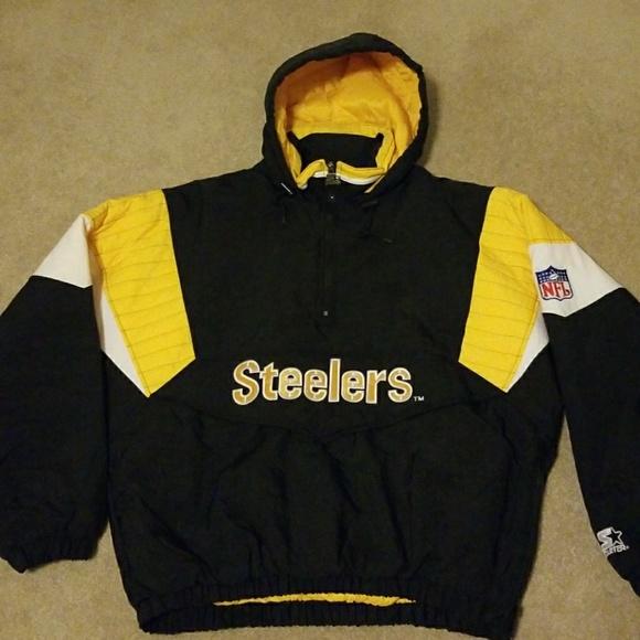finest selection 46d6c f3c84 Starter Jacket (Steelers)